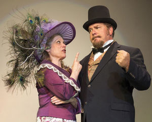 Dolly Levi and Horace Vandergelder